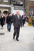 MICHAEL CRAIG-MARTIN, Tracey Emin opening. White Cube. Mason's Yard. London. 28 May 2009.