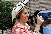 Beatrix opent tentoonstelling Máxima, 10 jaar in Nederland.//<br /> Queen Beatrix opens the exibition Maxima 10 years in the Netherlands<br /> <br /> Op de foto:<br /> <br /> Prinses Maxima / Princes Maxima