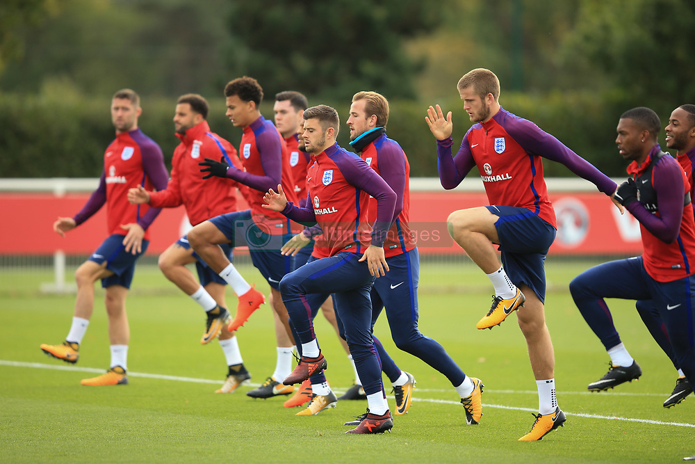 4 October 2017 -  2018 FIFA World Cup Qualifying (Group F) - England Training - England players are put through their paces - Photo: Marc Atkins/Offside
