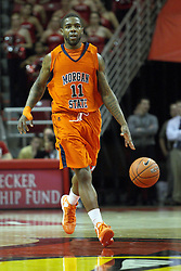 16 December 2012:  Anthony Hubbard during an NCAA men's basketball game between the Morgan State Bears and the Illinois State Redbirds (Missouri Valley Conference) in Redbird Arena, Normal IL