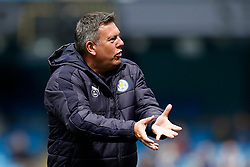 Leicester City manager Craig Shakespeare conducts his teams warm up - Mandatory by-line: Matt McNulty/JMP - 13/05/2017 - FOOTBALL - Etihad Stadium - Manchester, England - Manchester City v Leicester City - Premier League