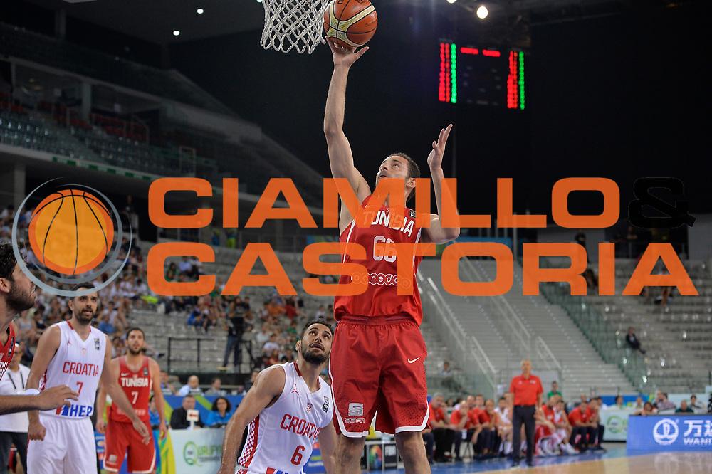DESCRIZIONE: Torino FIBA Olympic Qualifying Tournament  Croazia Tunisia<br /> GIOCATORE: Knioua Nizar<br /> CATEGORIA: TUNISY TUNISIA<br /> GARA: FIBA Olympic Qualifying Tournament Croazia Tunisia<br /> DATA: 06/07/2016<br /> AUTORE: Agenzia Ciamillo-Castoria
