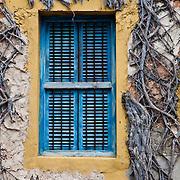 Window on Prisoner Island. Zanzibar, Tanzania.
