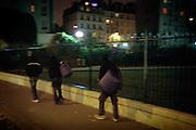 [English]  Three young Afghans have just been rejected of the bus because of their age. They will spend the night in Villemin park.<br /> <br /> [Francais]  De jeunes afghans vont dormir au square Villemin, pres du canal Saint Martin (Xeme), apres la recherche infructueuse d'un hebergement place Colonel Fabien. Certains ont tout de m&ecirc;me reussi a obtenir un des sacs de couchage distribues au compte-goutte par l'ONG &laquo;&nbsp;Les exiles du Xeme&nbsp;&raquo;. Le 28 decembre, a trois jours du reveillon du nouvel an en France, 25 mineurs isoles afghans dormaient dehors, par -8&deg;C. Un plan &quot;grand froid&quot; a ete mis sur pied le lendemain, permettant a chacun de trouver un refuge pour la nuit. Cependant ce type de solution reste provisoire et inadapte.