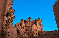 AIT BEN HADDOU, MOROCCO - CIRCA APRIL 2017: The Ksar in Ait Ben Haddou.