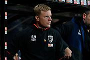 AFC Bournemouth manager Eddie Howe during the Premier League match between Bournemouth and Huddersfield Town at the Vitality Stadium, Bournemouth, England on 4 December 2018.