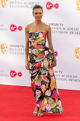 © Licensed to London News Pictures. 13/05/2018. London, UK. THANDIE NEWTON arrives for the Virgin TV British Academy (BAFTA) Television Awards. Photo credit: Ray Tang/LNP