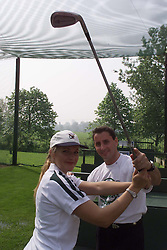 Regents Park Golf and Tennis school, London, May 15, 2000. Photo by Andrew Parsons / i-images..