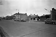 09/02/1963<br /> 02/09/1963<br /> 09 February 1963<br /> Views of Mount Merrion Service Station for Esso on the Merrion Road, Dublin. (Now a car dealership).