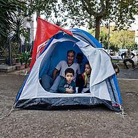 Famiglia con 3 minori sfrattati a Roma