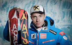 20.10.2012, Messehalle, Innsbruck, AUT, OeSV, Ski Alpin, Fototermin, im Bild Marcel Hirscher (OeSV, Skirennlaeufer) // during the official Portrait and Teamshooting of the Austrian Ski Federation (OeSV) at the Messehalle, Innsbruck, Austria on 2012/10/20. EXPA Pictures © 2012, PhotoCredit: EXPA/ OeSV/ Erich Spiess