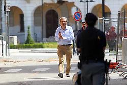 TERREMOTO NEL FERRARESE ABBATTIMENTO MUNICIPIO DI SANT'AGOSTINO: NELLA FOTO VITTORIO SGARBI
