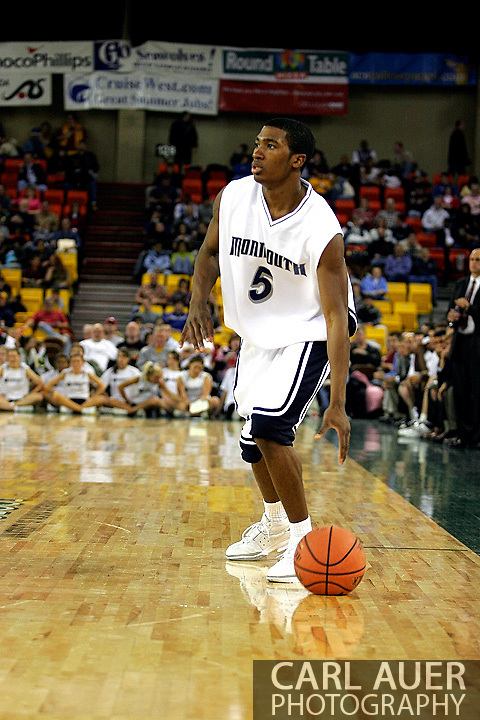 25 November 2005: Freshman forward for Monmouth University, Whitney Coleman (5) in the 56-62 loss to South Carolina at the Great Alaska Shootout in Anchorage, Alaska