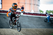 #42 (SCHIPPERS Jay) NED at Round 5 of the 2019 UCI BMX Supercross World Cup in Saint-Quentin-En-Yvelines, France