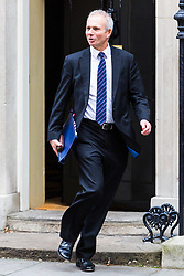 London, October 24 2017. Lord Chancellor and Secretary of State for Justice David Lidington leaves the UK cabinet meeting at Downing Street. © Paul Davey