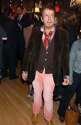 NICKY HASLAM at a 2nd party to celebrate the opening on Sac Freres at 7 Grafton Street, London W1 on 3rd November 2005.<br /><br />NON EXCLUSIVE - WORLD RIGHTS