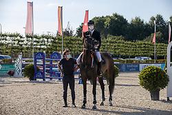 Sebrechts Max, BEL, Anita du Park<br /> Belgisch Kampioenschap Jeugd Azelhof - Lier 2020<br /> © Hippo Foto - Dirk Caremans<br /> 02/08/2020