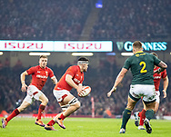 Ellis Jenkins of Wales<br /> <br /> Photographer Simon King/Replay Images<br /> <br /> Under Armour Series - Wales v South Africa - Saturday 24th November 2018 - Principality Stadium - Cardiff<br /> <br /> World Copyright © Replay Images . All rights reserved. info@replayimages.co.uk - http://replayimages.co.uk