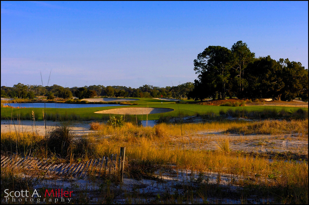 Feb 12, 2007:  No. 6 on the Seaside Course at Sea Island, Ga....© 2007 Scott A. Miller