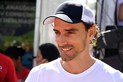 November 12, 2017 - Brazil - RIO DE JANEIRO, RJ - 12.11.2017: FLUMINENSE RUN - Olympic medalist Emanuel Rego at Fluminense Run, the first official street race of the Tricolor Club. This Sunday (12) through the streets of the Marvelous City Center, with departure and arrival in Plaza Mau(Credit Image: © Fotoarena via ZUMA Press)