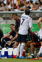 Photo: Glyn Thomas.<br />England v Ecuador. 2nd Round, FIFA World Cup 2006. 25/06/2006.<br /> England's David Beckham after being substituted.