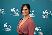 Venice, Italy, 30th August 2019, Daniela Ioia at the photocall for the film The Mayor of Rione Sanita (Il Sindaco Del Rione Sanita) at the 76th Venice Film Festival, Sala Grande. Credit: Doreen Kennedy/Alamy Live News