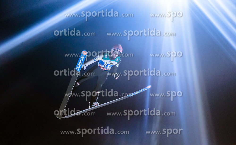 05.01.2015, Paul Ausserleitner Schanze, Bischofshofen, AUT, FIS Ski Sprung Weltcup, 63. Vierschanzentournee, Qualifikation, im Bild Manuel Fettner (AUT) // during Qualification of 63rd Four Hills Tournament of FIS Ski Jumping World Cup at the Paul Ausserleitner Schanze, Bischofshofen, Austria on 2015/01/05. EXPA Pictures © 2015, PhotoCredit: EXPA/ JFK