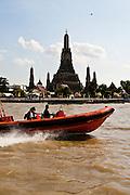 Views of Wat Arun and the Chao Phraya River