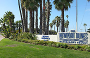 Newport Dunes Entrance Monument