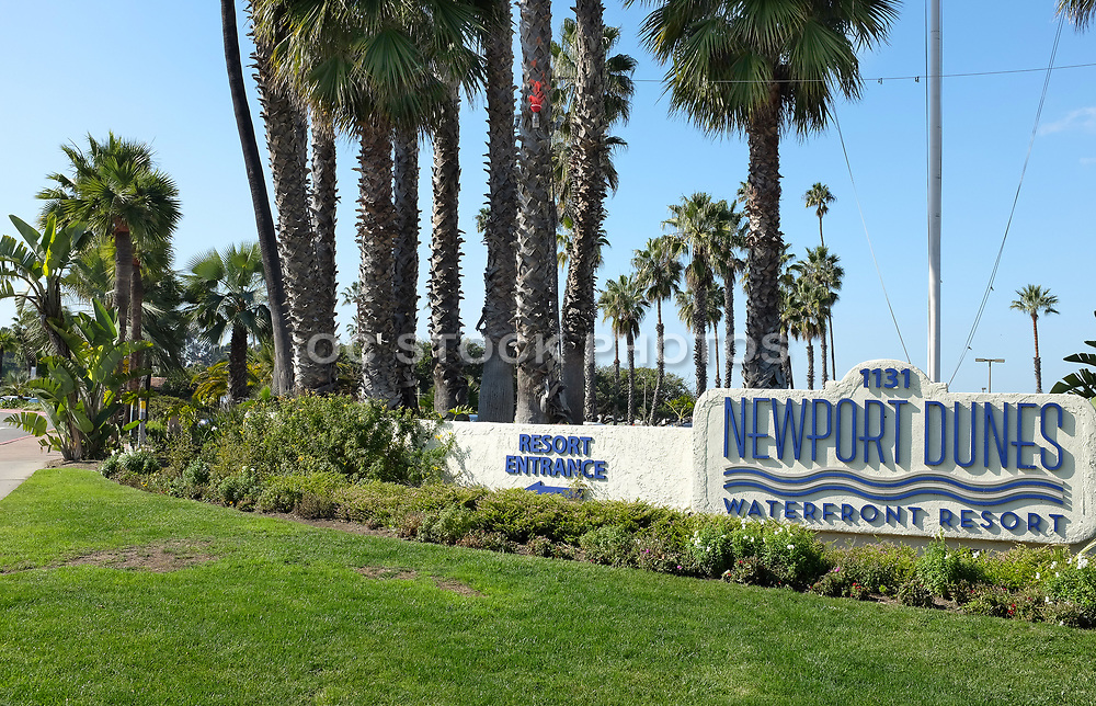 Newport Dunes Entrance Monument