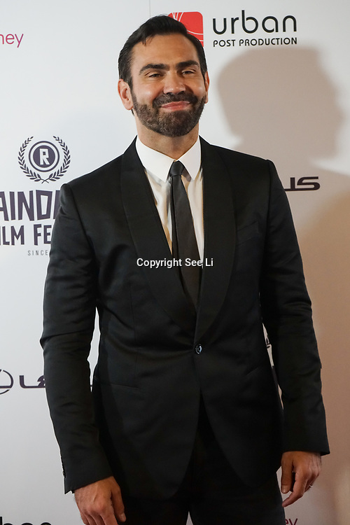 London, UK, 20th September 2017. Tom Benedict Knight attend Raindance 25th Film Festival Opening Gala at VUE Leicester Square.