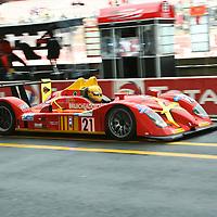 #21 Radical SR9 - Team Bruichladdich Radical (Drivers - Stuart Moseley, Tim Greaves and Robin Liddell) LMP1, Le Mans 24Hr 2007