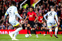 Anthony Martial of Manchester United - Mandatory by-line: Robbie Stephenson/JMP - 25/09/2018 - FOOTBALL - Old Trafford - Manchester, England - Manchester United v Derby County - Carabao Cup