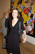 Fiona Rae. Turner Prize. Tate Gallery. 8 December 2002. © Copyright Photograph by Dafydd Jones 66 Stockwell Park Rd. London SW9 0DA Tel 020 7733 0108 www.dafjones.com