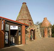 Kilns and gift shop, Oatlands visitor centre, St Sampson, Guernsey