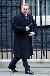 © Licensed to London News Pictures. 26/01/2016. London, UK. Scotland Secretary DAVID MUNDELL attending a cabinet meeting in Downing Street on Tuesday, 26 January 2016. Photo credit: Tolga Akmen/LNP