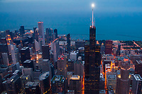Willis Tower Illuminated