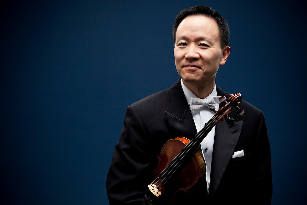 Violinist David Kim is the concertmaster for the Philadelphia Orchestra. He was pictured on October 22, 2009 in Philadelphia.