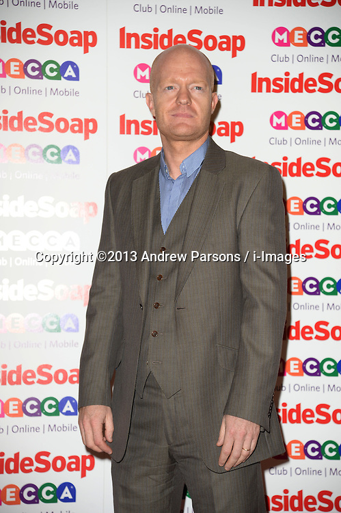 Inside Soap Awards.<br /> Jake Wood arrives for the Inside Soap Awards, Ministry of Sound, London, United Kingdom,<br /> Monday, 21st October 2013. Picture by Andrew Parsons / i-Images
