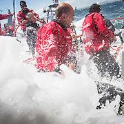 """Regata de entrenamiento a bordo del """"MAPFRE""""./ Practice race on board """"MAPFRE"""""""