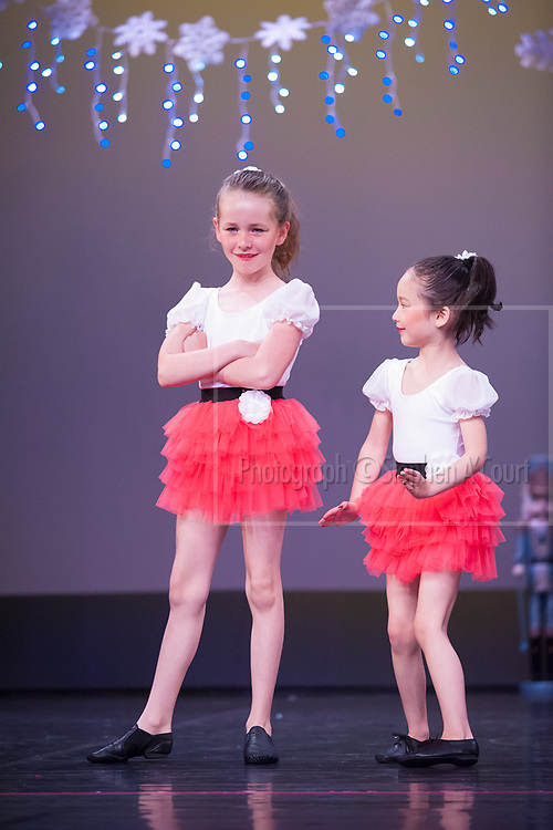Wellington, NZ. 5.12.2015. Strawberry Kisses, from the Wellington Dance & Performing Arts Academy end of year stage-show 2015. Little Show, Saturday 10.15am. Photo credit: Stephen A'Court.  COPYRIGHT ©Stephen A'Court