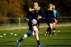 Jack Willis of Wasps during training ahead of the European Challenge Cup fixture against SU Agen - Mandatory by-line: Robbie Stephenson/JMP - 18/11/2019 - RUGBY - Broadstreet Rugby Football Club - Coventry , Warwickshire - Wasps Training Session