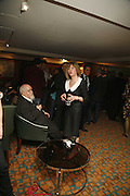 SIR PETER AND LADY CHRISSIE BLAKE, Sir Peter Blake and Poppy De Villeneuve host a party with University of the Arts London at the Arts Club, Dover Street, London. 20 APRIL 2006<br />