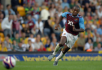 Photo: Ashley Pickering.<br /> Norwich City v West Ham United. Pre Season Friendly. 31/07/2007.<br /> Luis Boa Morte of West Ham