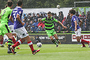 Forest Green Rovers William Randell(19) on the ball during the EFL Sky Bet League 2 match between Forest Green Rovers and Exeter City at the New Lawn, Forest Green, United Kingdom on 9 September 2017. Photo by Shane Healey.