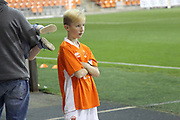 Blackpool mascot during the EFL Sky Bet League 1 match between Blackpool and Rochdale at Bloomfield Road, Blackpool, England on 26 September 2017. Photo by Daniel Youngs.