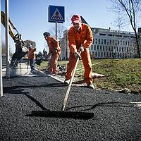 lavori di manutenzione stradale<br /> road maintenance works