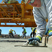 BATH, Maine -- Repaving and Construction efforts on the Bath Viaduct Overpass are at least a week ahead of schedule according to Peter Brown, State of Maine Project Resident. The originally scheduled date of completion was to be May 23. <br />