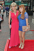 LONDON - August 01: Sally Farmiloe & Rose-Marie at the Leave It On The Floor UK Premiere (Photo by Brett D. Cove)