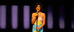 Amy Winehouse performs during the Nationwide Mercury Music Prize at the Grosvenor House Hotel in central London.